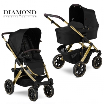 Коляска 2 в 1 FD-Design Salsa 4 Air Diamond Special Edition, Champagne