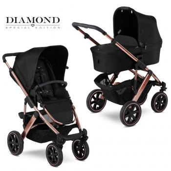 Коляска 2 в 1 FD-Design Salsa 4 Air Diamond Special Edition, Rose Gold