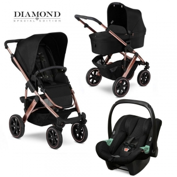 Коляска 3 в 1 FD-Design Salsa 4 Air Diamond Special Edition, Rose Gold